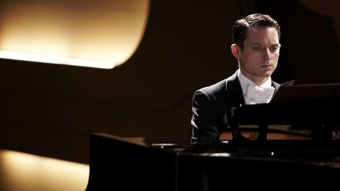 "Elijah Wood, protagonista de ""Grand piano"""