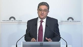Enric Millo, portaveu del PPC