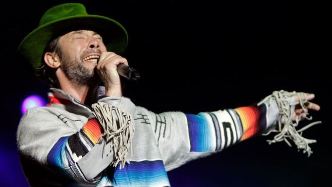 Jamiroquai en plena acció (Reuters)