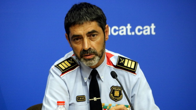 """Trapero demana als Mossos que siguin """"especialment curosos amb l'ús de la força"""""""