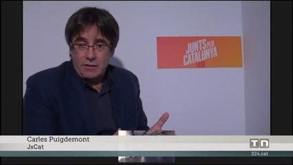 Puigdemont demana a PP, Cs i PSOE que treguin les mans de les estructures de govern