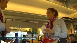 L'AVE València-Castelló tarda més a fer el trajecte que l'Euromed o el Talgo