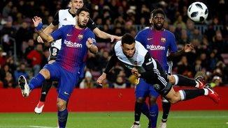 A un pas de la final de Copa! El gol de Suárez al València
