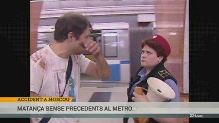 Accident al metro de Moscou