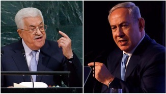 Mahmud Abbas i Benjamin Netanyahu (Reuters)