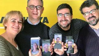 """Mariola Dinarès, Albert Cuesta, Albert Murillo i Genís Roca formen part del """"Consultori digital"""" d'""""El matí"""""""