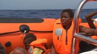Proactiva Open Arms, acolliment al mar a Lesbos i a la Mediterrània