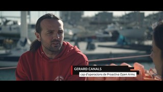 "Gerard Canals (Proactiva Open Arms): ""Nosaltres rescatem persones"""