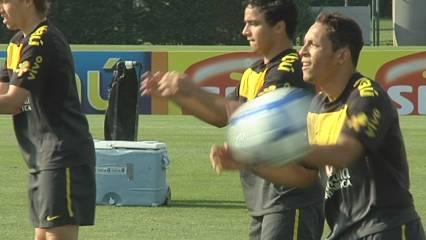 S'entrena amb el Brasil