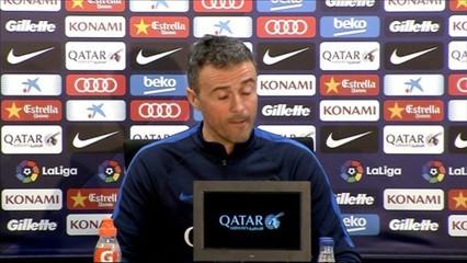 "Luis Enrique: ""L'Athletic segur que ens pressionarà"""