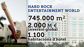 De les facilitats promeses per Colau al Hard Rock Entertainment
