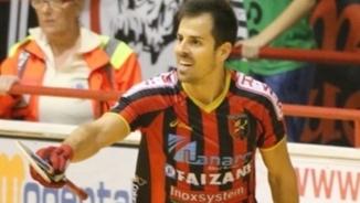 Jordi Adroher, jugador internacional d'hoquei patins.
