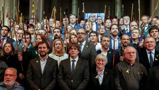 """Puigdemont, a Europa: """"Què fareu, continuareu ajudant Rajoy en aquest cop d'estat?"""""""