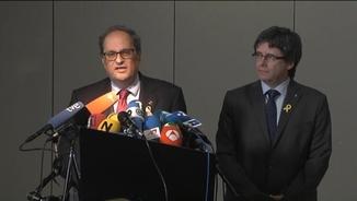 Patrycia Centeno analitza la declaració conjunta de Quim Torra i Carles Puigdemont