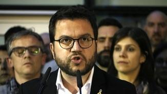 Pere Aragonès, conseller d'Economia, Hisenda i vicepresident del govern