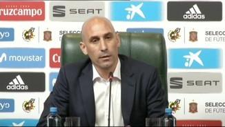 Luis Rubiales anuncia la destitució com a seleccionador de Julen Lopetegui
