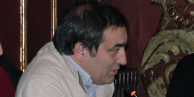 El regidor del PSC de Vic Josep Burgaya, en un ple municipal (Foto: ACN)
