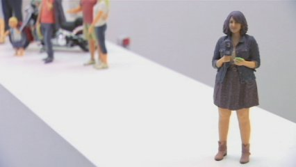 Miniatures humanes fetes amb impressores 3D