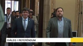 Els titulars del 20/03/17: Carta pública de Puigdemont i Junqueres demanant diàleg
