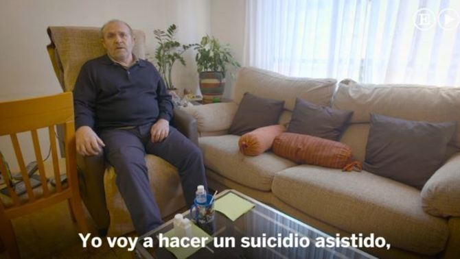 """""""Morir en la clandestinitat"""": el vídeo reivindicatiu on un malalt d'ELA se suïcida"""