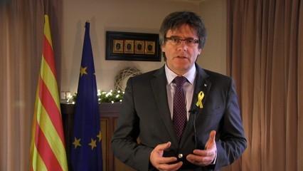 El balanç de l'any de Puigdemont des de Brussel·les