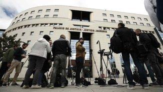 El Palau de Justícia de Navarra, on es va fer pública la sentència de La Manada (EFE)