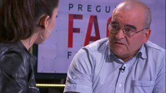 """Josean Fernández, exmembre d'ETA: """"M'hauria agradat reaccionar com el poble català"""""""
