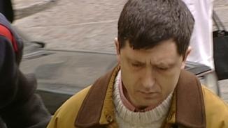 Jordi Magentí, durant el judici que el va condemnar per la mort de la seva dona, l'any 2000.