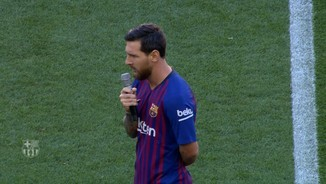 "Messi: ""Farem tot el possible per portar la Champions"""