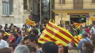 Manifestació del 25 abril a València per un canvi polític i contra les retallades