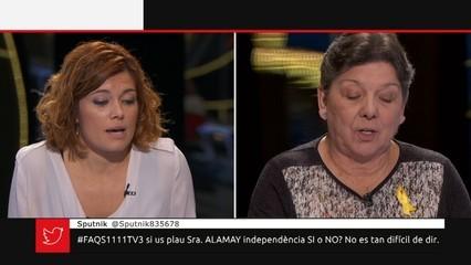 Entrevista a Elisenda Alamany i cara a cara amb Gabriela Serra
