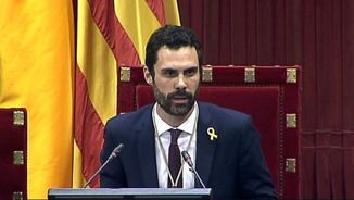 Roger Torrent, nou president del Parlament