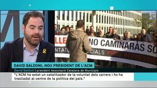 """""""El 155 és com un corc que tens dins la Generalitat i que, al final, va afectant tots els àmbits on es treballa"""", alerta David Saldoni (ACM)"""