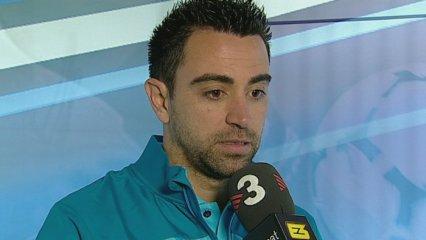 """Xavi: """"Estem en un bon moment i ho hem d'aprofitar"""""""