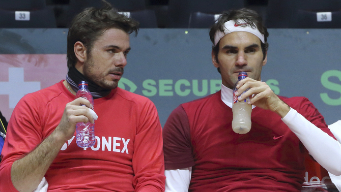 Stan Wawrinka i Roger Federer