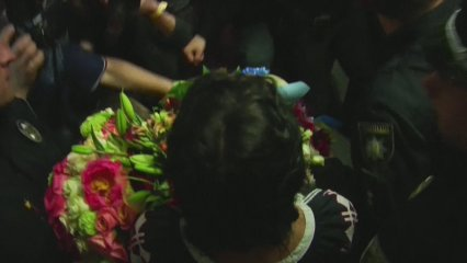 Arribada de Jamala a Ucraïna