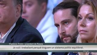 Putin admet que no té rival polític