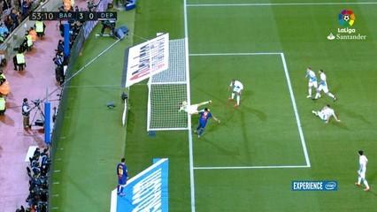 El Barça goleja el Dépor abans del clàssic (4-0)