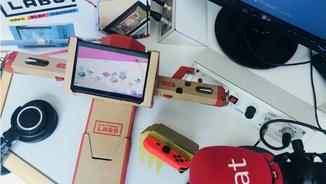 Ja hem jugat al Labo, els gadgets de cartró de Nintendo