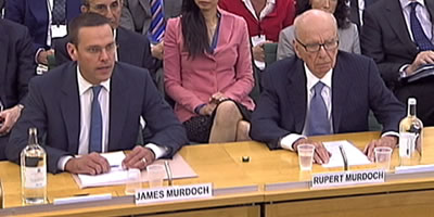"James Murdoch dimiteix com a directiu de ""The Times"", ""The Sunday Times"" i ""The Sun"""
