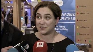 Ada Colau afirma que la mobilitat ha funcionat bé, en general, malgrat la vaga del metro