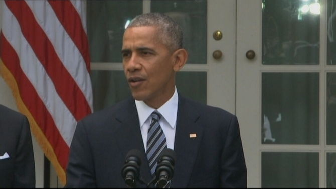 "Obama: ""No som republicans primer, ni demòcrates primer. Primer de tot, som americans"""