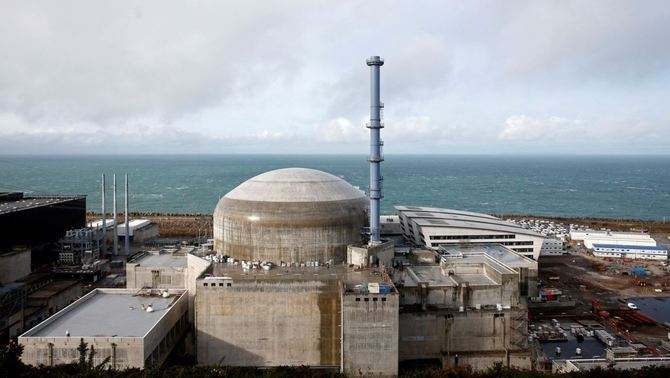 La central nuclear de Flamanville (Reuters)