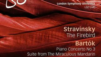 London Simphony Orchestra. Stranvinsy The Fire Bird. Bartók Piano concerto no. 3.