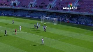 Resum del Barça B, 1 - Almeria, 1