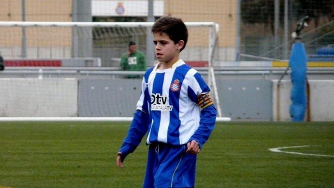 Óscar Melendo, jugador de l'Espanyol