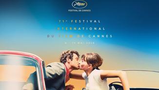 Imatge del cartell de la 71a edició del Festival de Canes