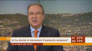 Reobertura tímida de l'espai aeri europeu