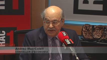 """Mas-Colell: """"La pujada de l''IRPF ofega encara més Catalunya"""""""
