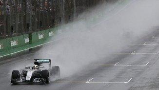 Hamilton guanya. Rosberg s'ha d'esperar